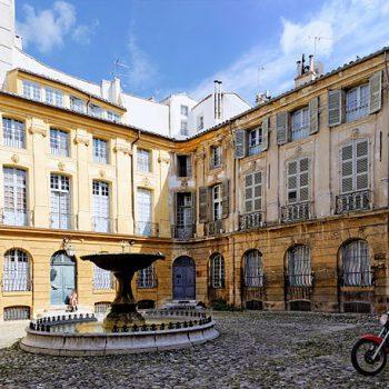 Städte und Kultur - Place d'Albertas - Aix-en-Provence - Reiseleiter Provence