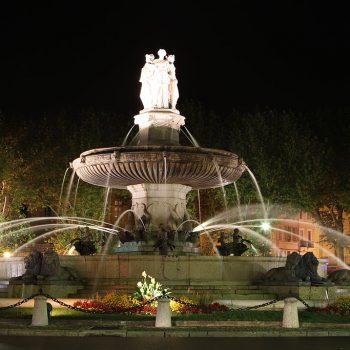 Städte und Kultur - Rotonde - Aix-en-Provence - Reiseleiter Provence