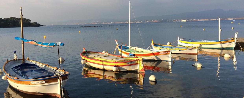 Boote im Mittelmeer - Reiseleiter Provence