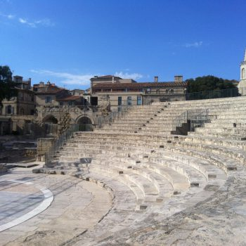 Städte und Kultur - Arles Antikes Theater - Reiseleiter Provence