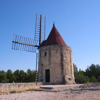 Fontvieille - Mühle Daudet - Reiseleiter Provence