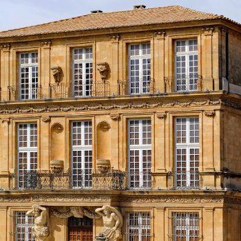 Städte und Kultur - Palais Vendome - Aix-en-Provence - Reiseleiter Provence
